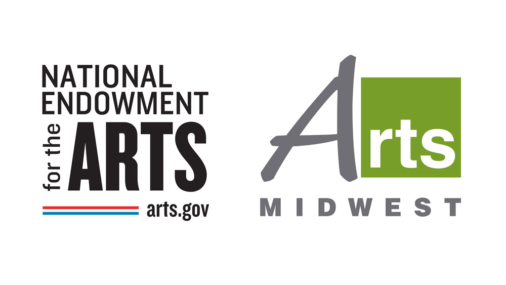 National Endowment for the Arts & Arts Midwest logo